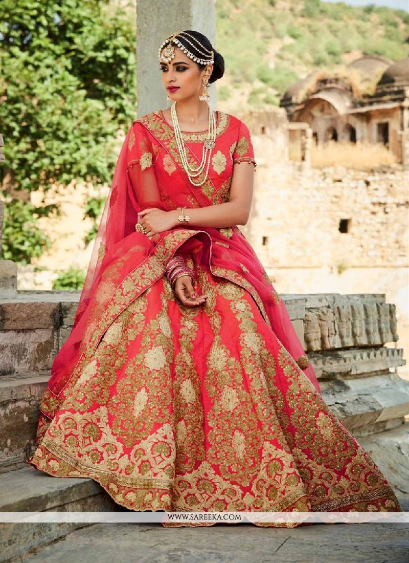 66b3f3fd0 Buy Art Silk A Line Lehenga Choli Online at best price -