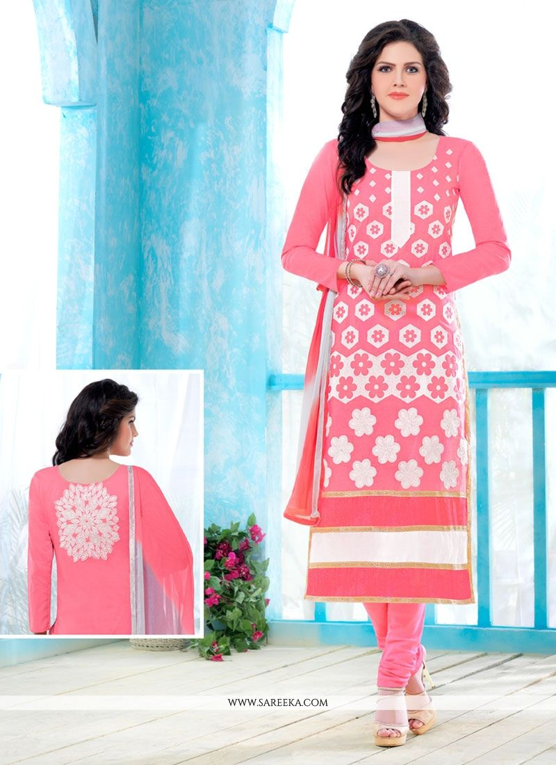 Cotton   Churidar Designer Suit