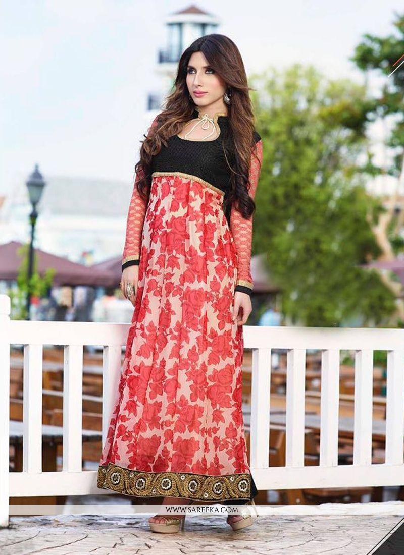 Multi Colour Anarkali Salwar Kameez