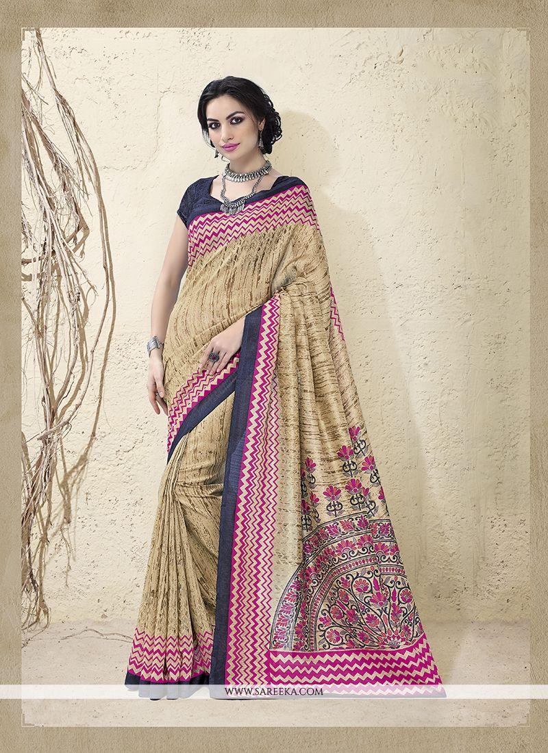 Bhagalpuri Silk Casual Saree