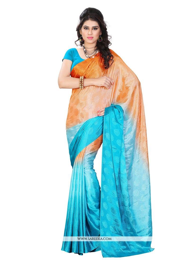 Jacquard Multi Colour Casual Saree