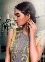 Georgette Embroidered Work Designer Floor Length Suit