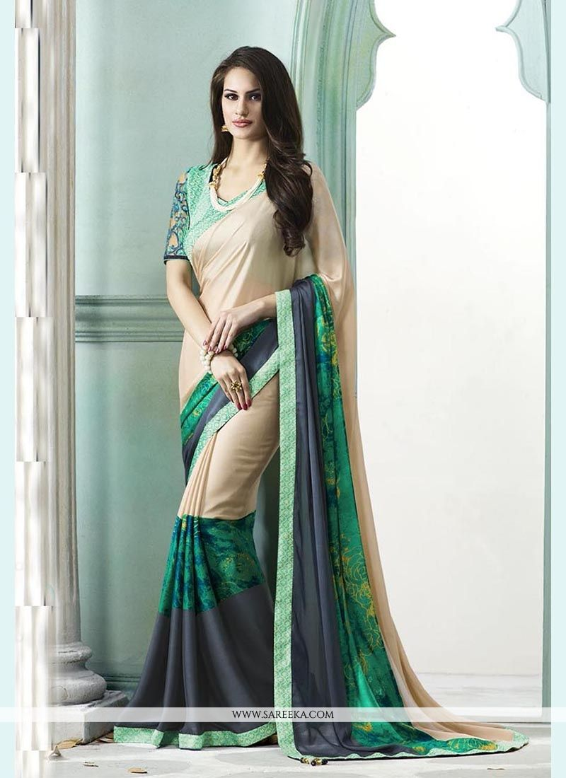 Multi Colour Designer Saree