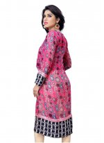 Pink Party Wear Kurti
