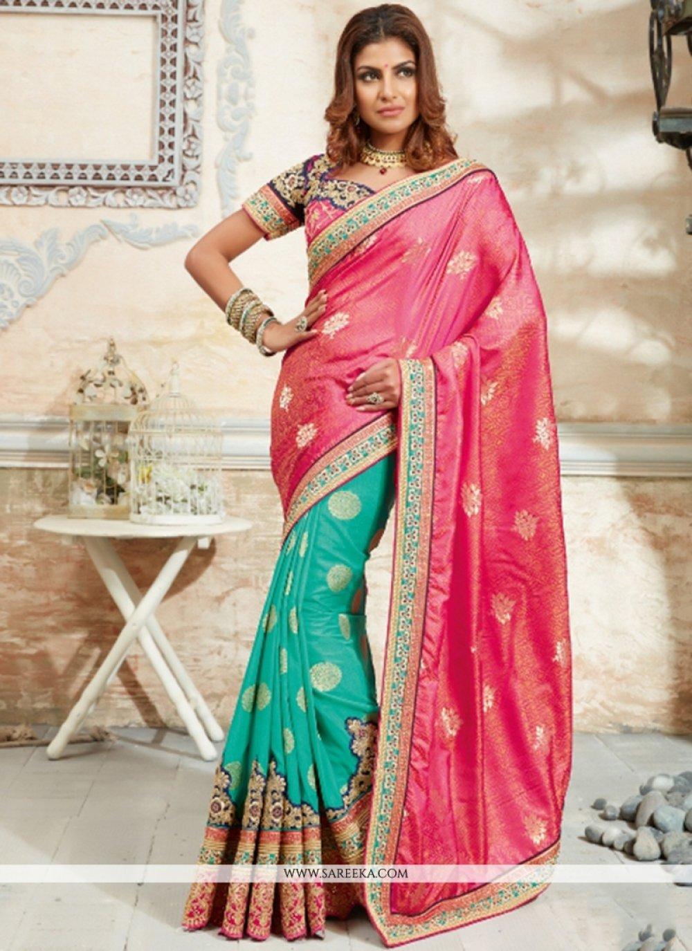 Georgette Designer Traditional Sarees