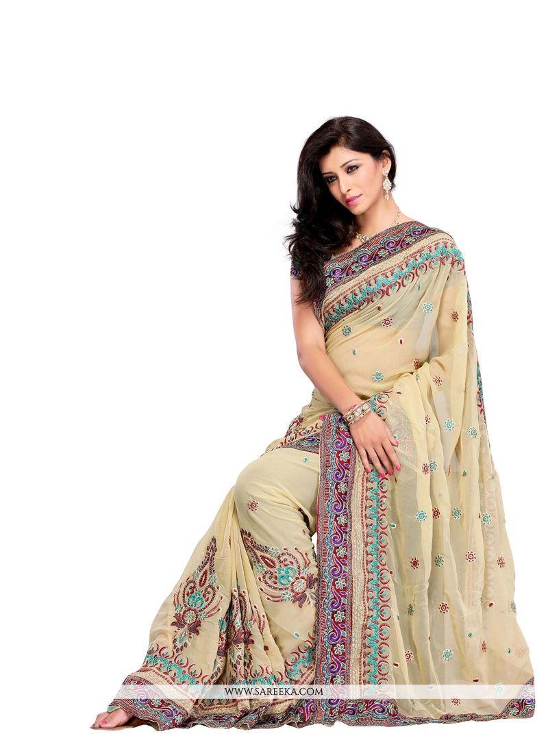 Designer Saree For Festival