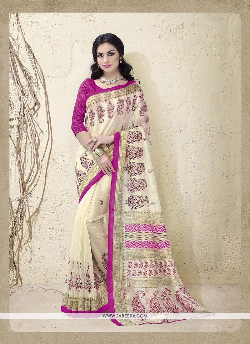 Bhagalpuri Silk Casual Saree