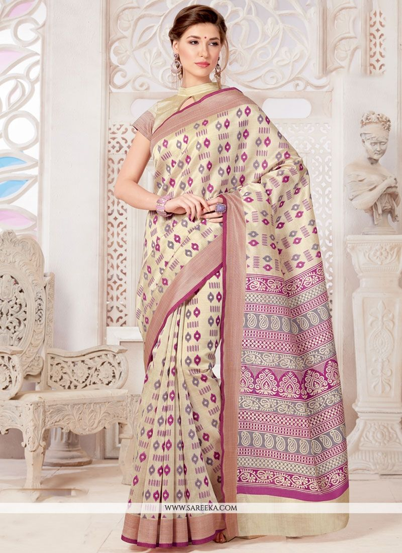 Tussar Silk Casual Saree