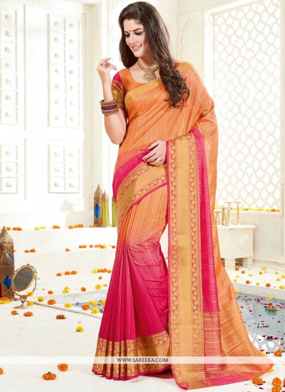 Art Silk woven Work Traditional Designer Saree