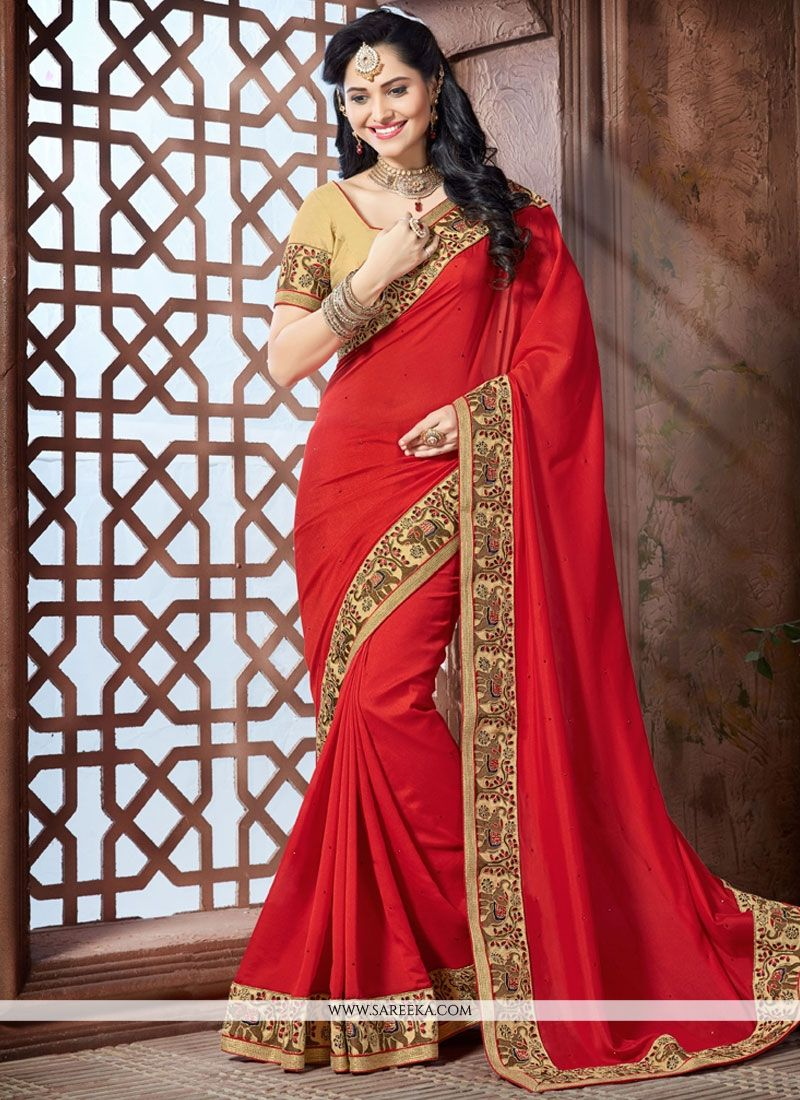 Crepe Silk Traditional  Saree