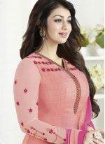 Ayesha Takia Embroidered Work Churidar Designer Suit