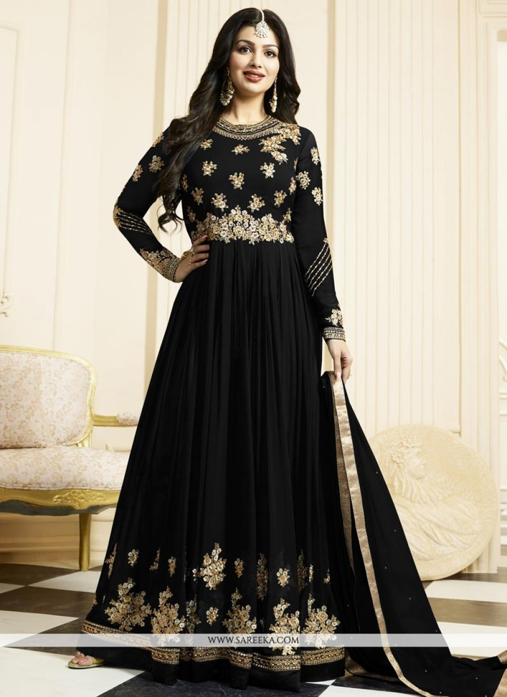 Ayesha Takia Embroidered Work Floor Length Anarkali Suit