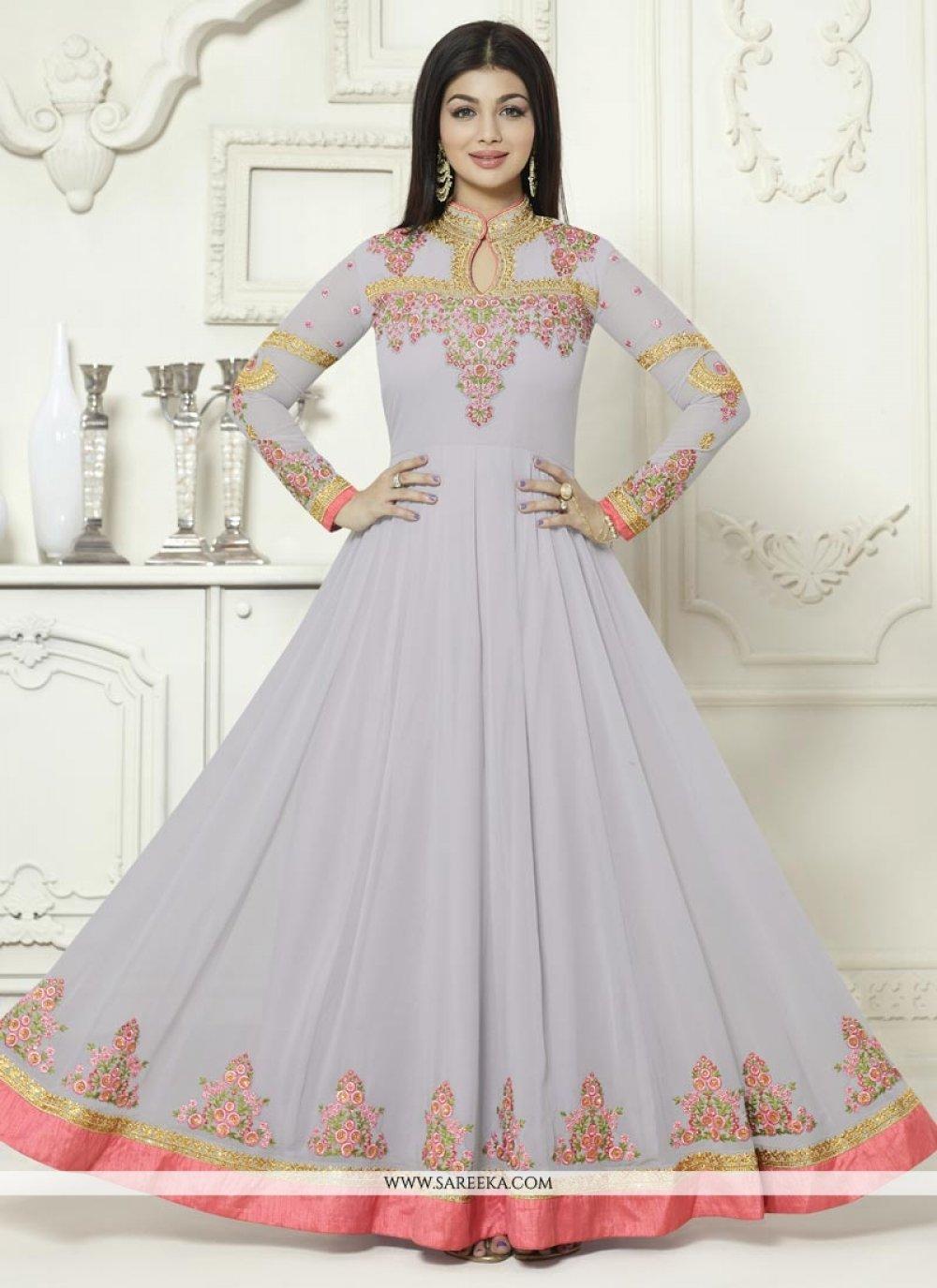 Ayesha Takia Embroidered Work Floor Length Anarkali Suit