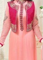 Ayesha Takia Pink Jacket Style Suit