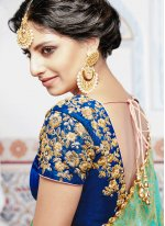 Banarasi Silk Embroidered Work Lehenga Choli