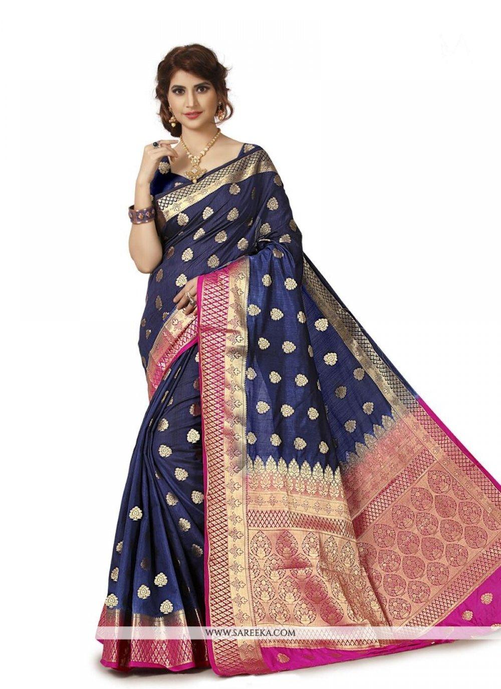 Banarasi Silk Traditional Designer Saree