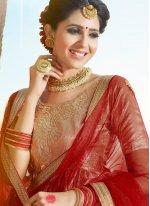 Banglori Silk Red Lehenga Choli