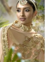 Lace Work Fancy Fabric Classic Designer Saree