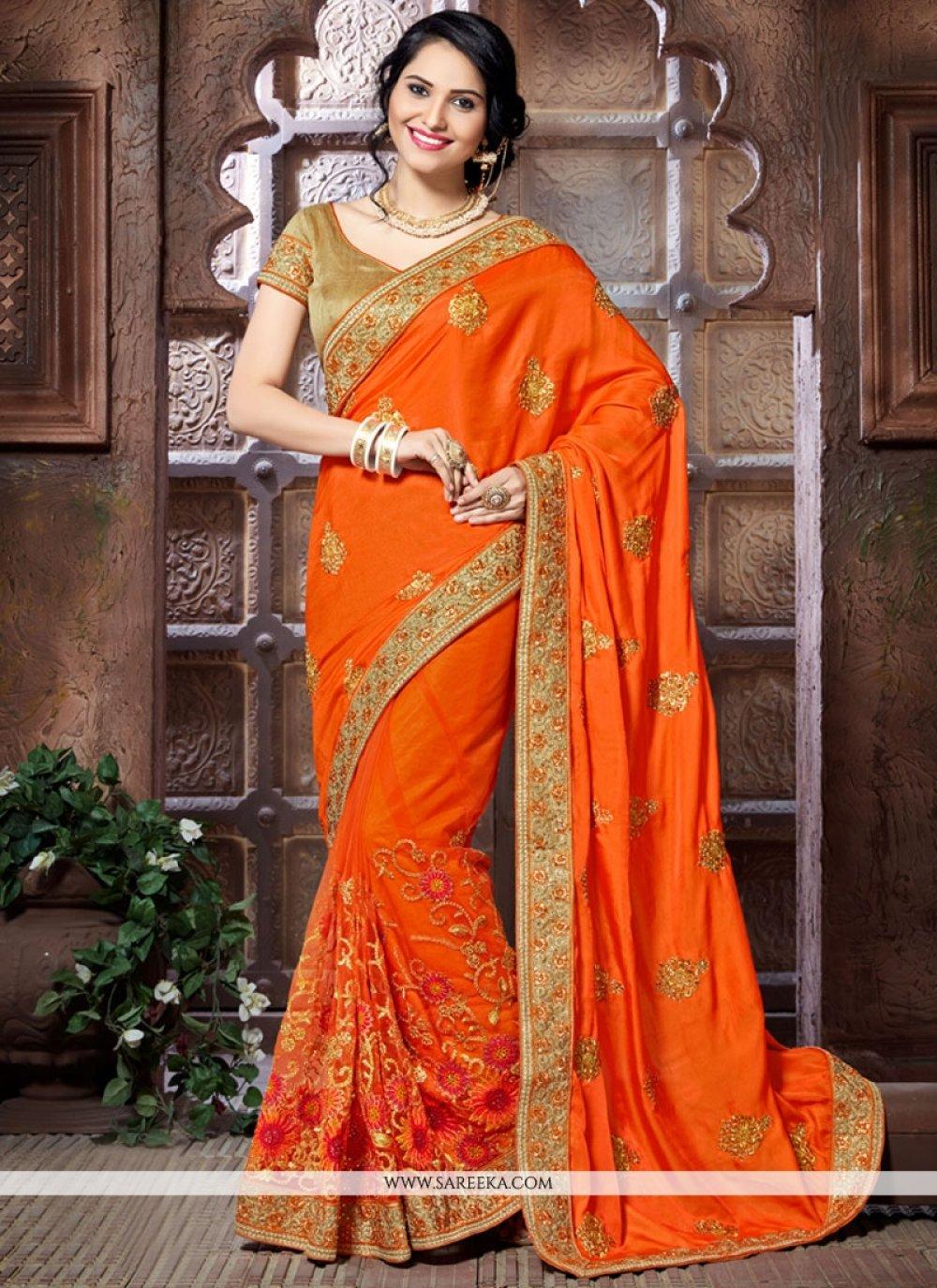 Designer Traditional Saree For Bridal