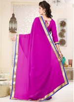 Faux Georgette Casual Saree
