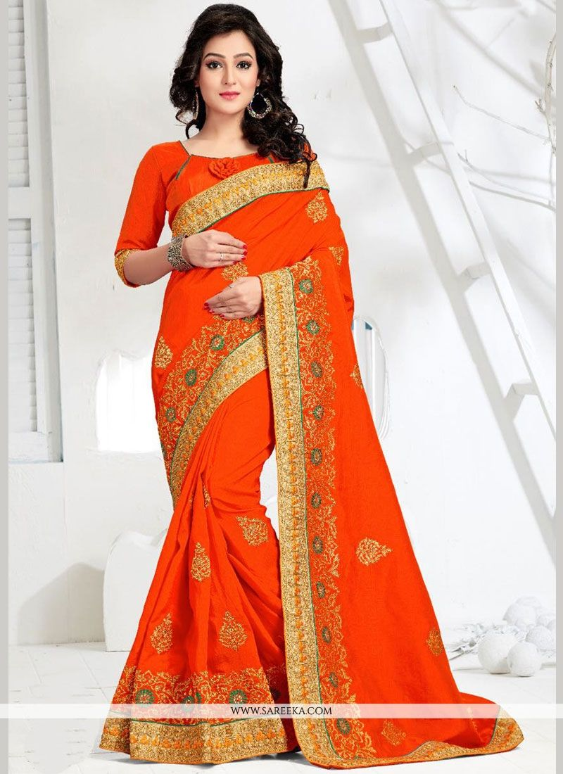 Zari Work Art Silk Designer Traditional Saree