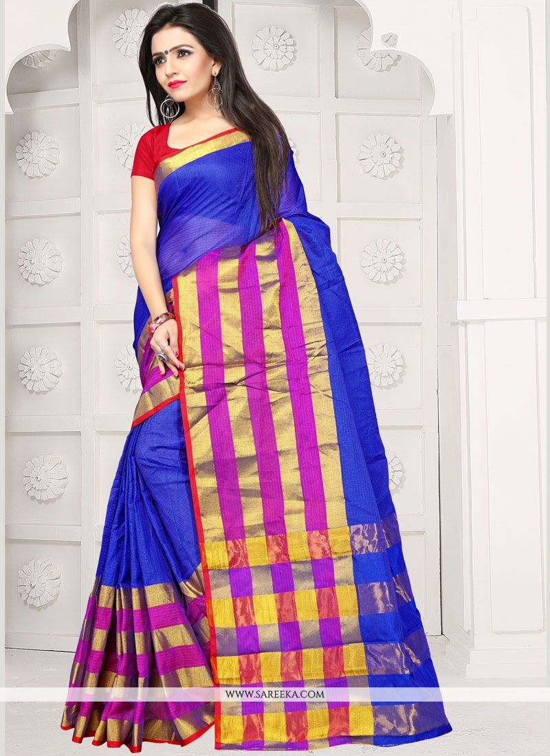 Manipuri Silk Weaving Work Traditional  Saree