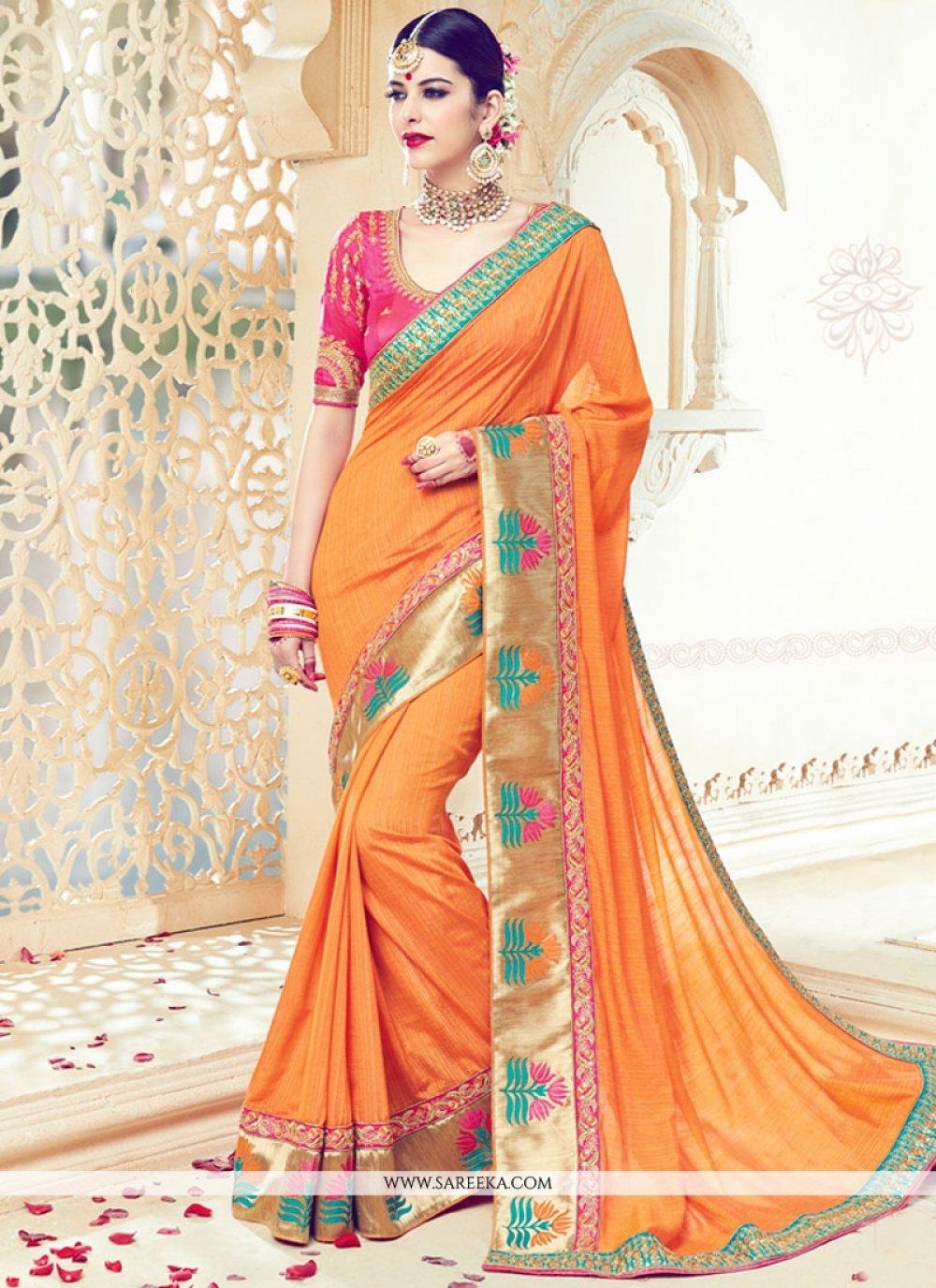 Zari Work Traditional Designer Saree