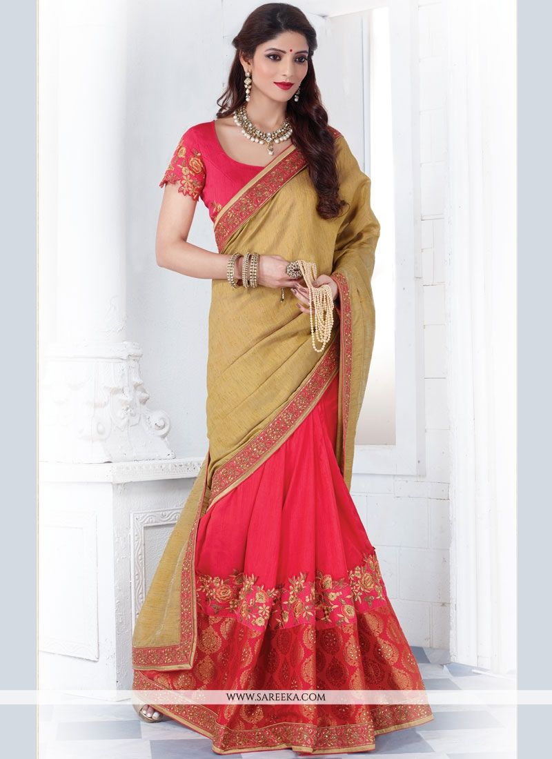 Half N Half  Saree For Wedding