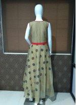 Banarasi Silk Readymade Gown