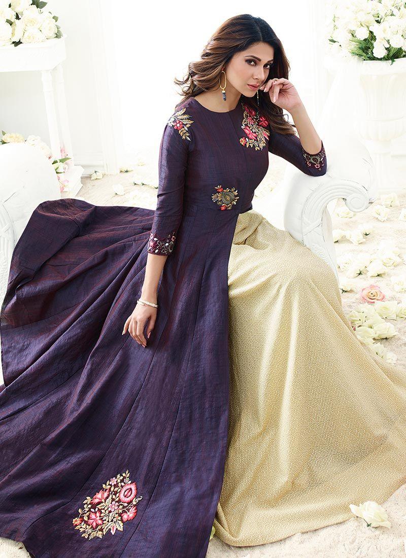 Shop Online Jennifer Winget Resham Work Long Choli Lehenga ...