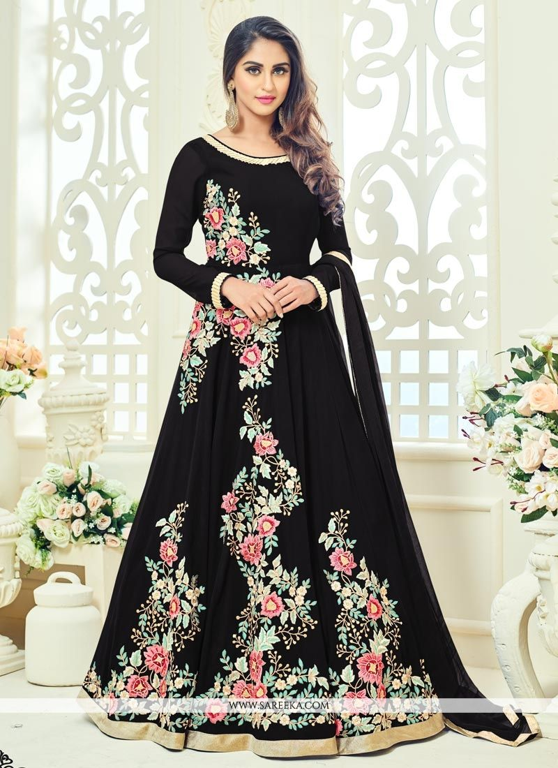 Krystle Dsouza Faux Georgette Floor Length Anarkali Suit