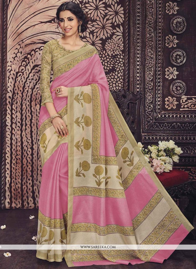Lively Art Silk Casual Saree