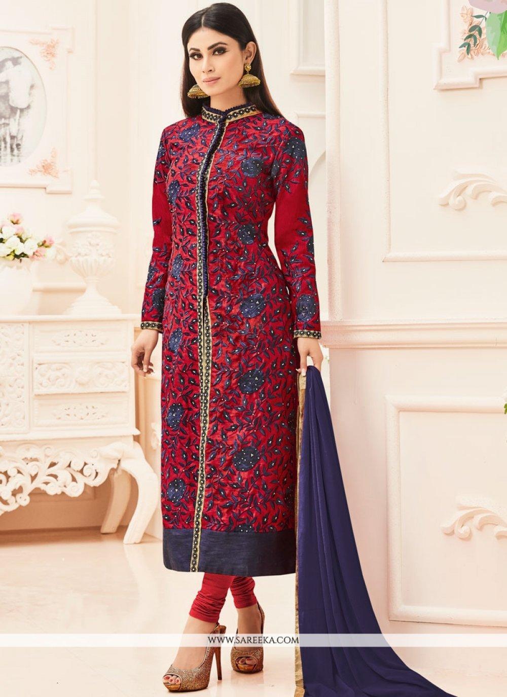 Mouni Roy Churidar Designer Suit