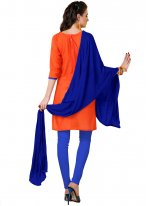 Orange Churidar Suit