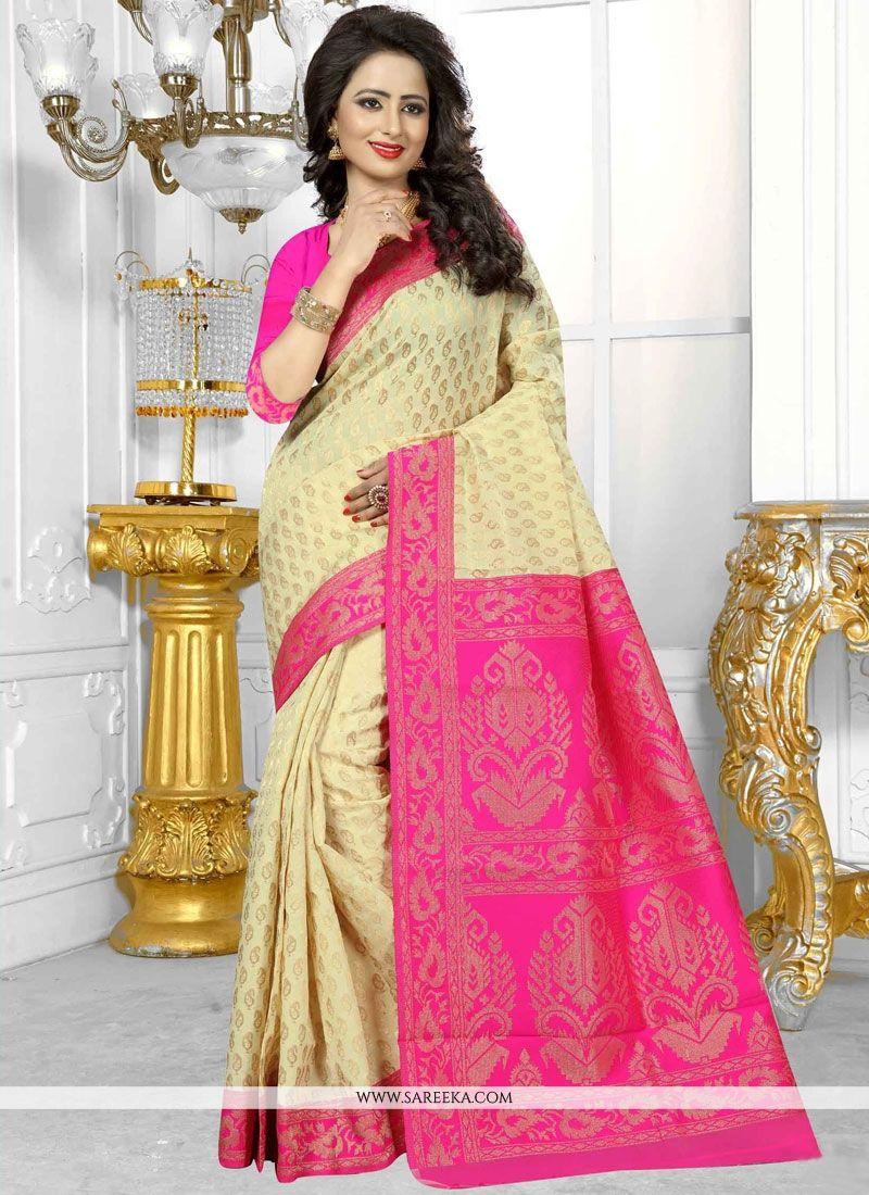 Banarasi Silk Weaving Work Designer Traditional Saree