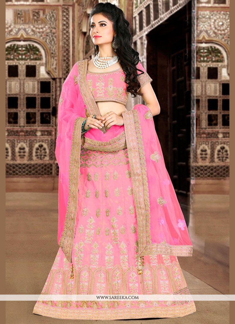 766a3b3a37 Buy Pink Lehenga Choli Online : New Zealand -