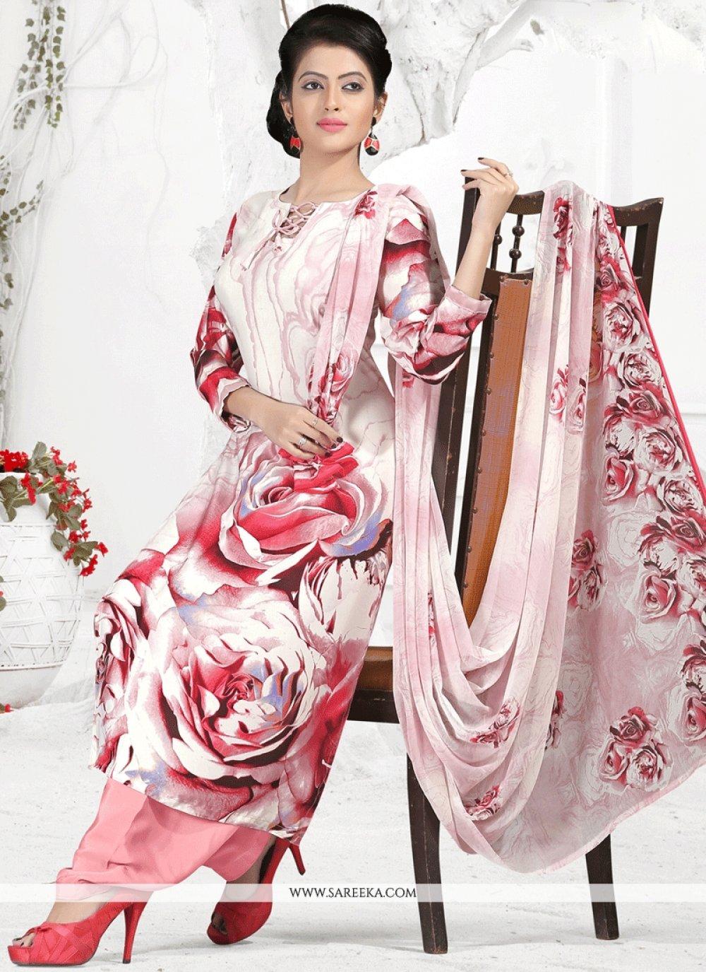 Print Work Punjabi Suit