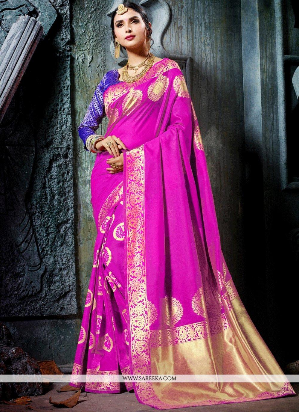 Rani Art Silk Traditional Designer Saree