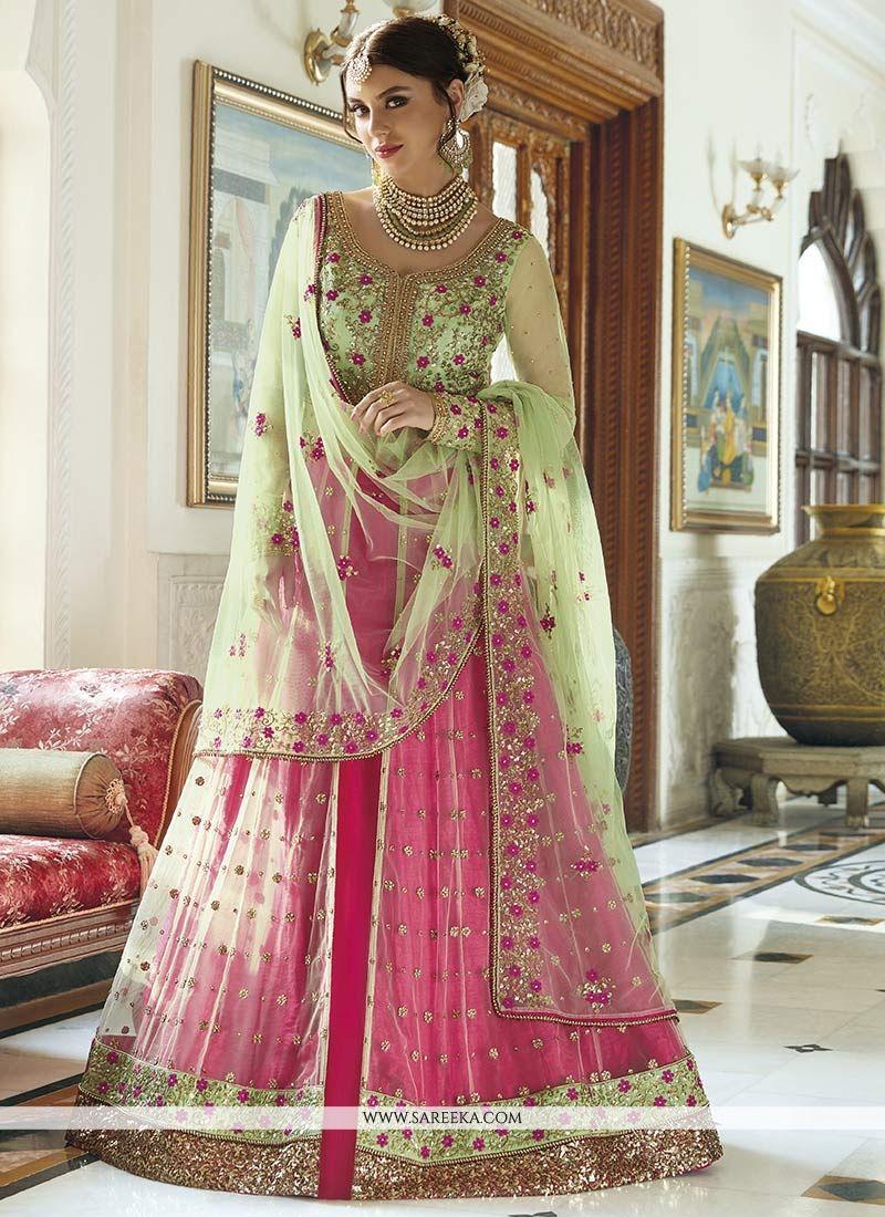 Art Silk Embroidered Work Designer Lehenga Choli