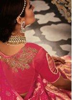 Resham Work Banarasi Silk Lehenga Choli