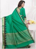 Sea Green woven Work Designer Traditional Saree