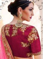 Handloom silk Embroidered Work Lehenga Choli