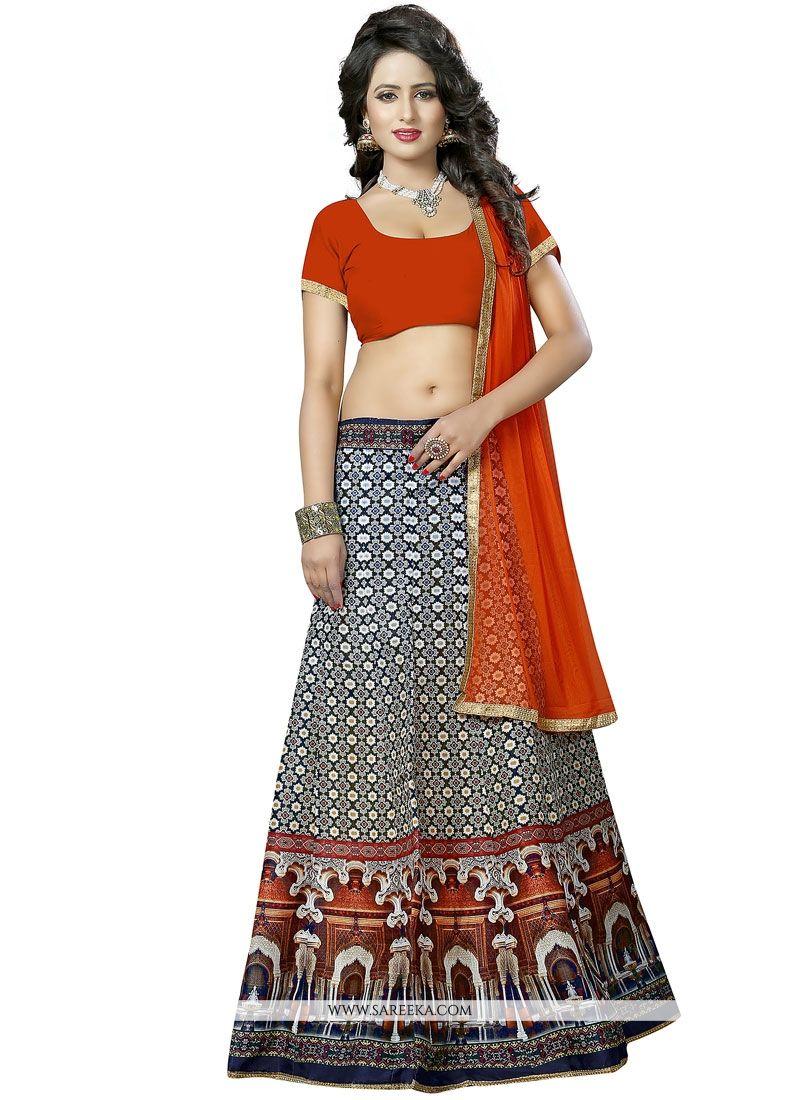 Banglori Silk Multi Colour Lehenga Choli