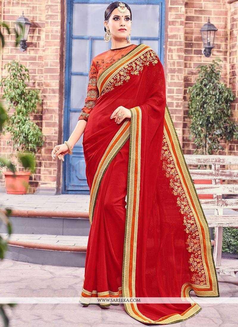 Fancy Fabric Saree
