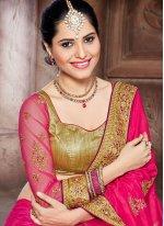 Zari Work Traditional  Saree