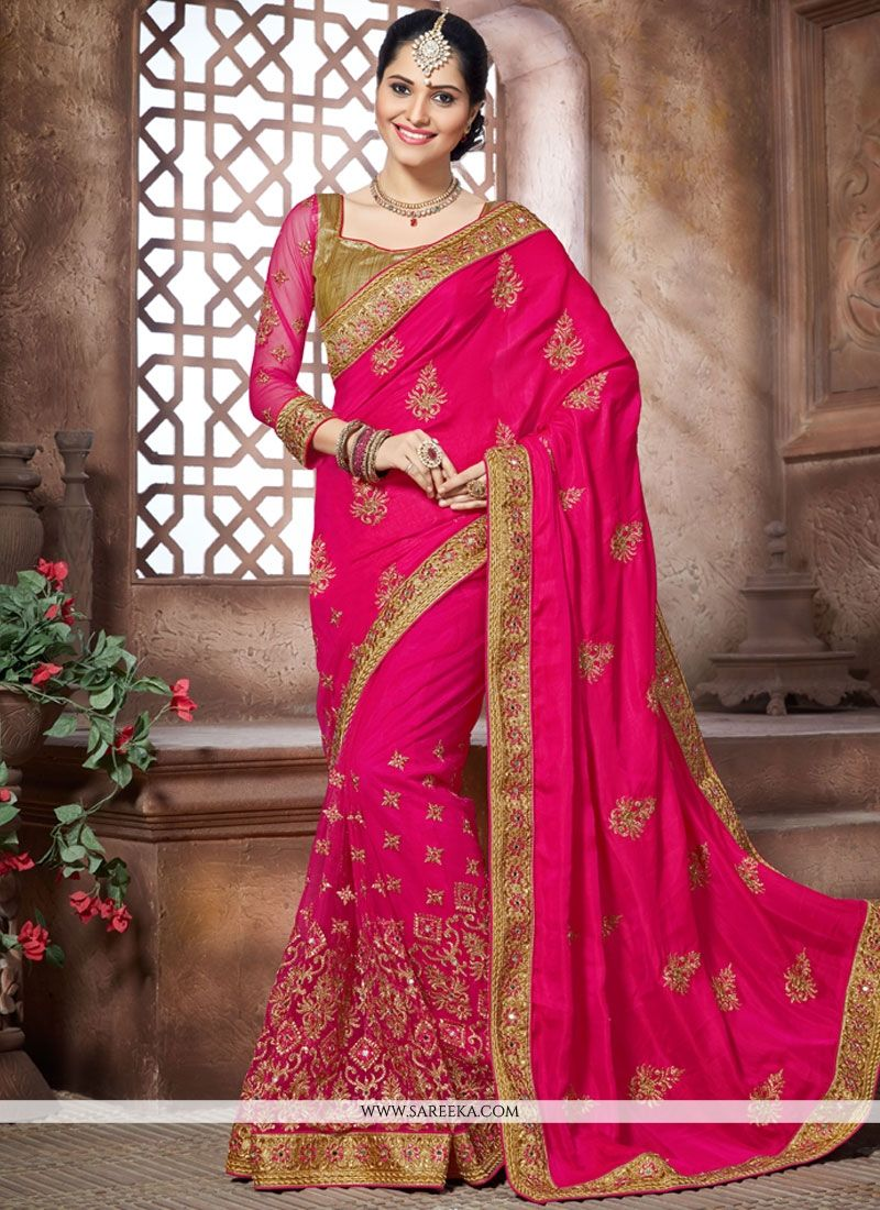 Zari Work Traditional  Saree