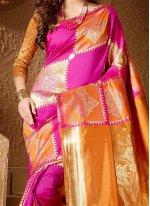 Weaving Work Cotton Silk Traditional Designer Saree