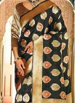 Weaving Work Handloom silk Traditional  Saree