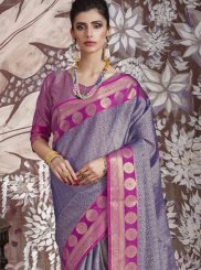 Abstract Print Festival Classic Saree