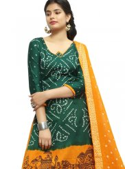 Adorable Green Colored Salwar Suit